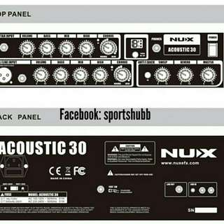 NuX Digital Acoustic Guitar Amplifier