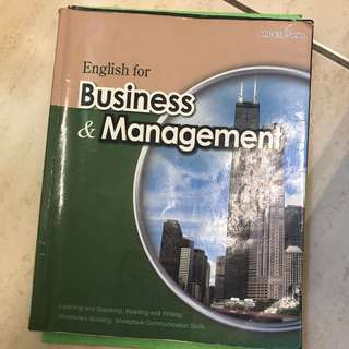 English For Business&management
