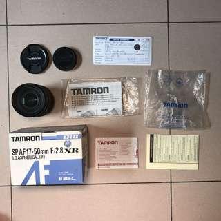 Tamron For Nikon 17-50mm F2.8