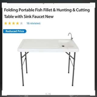 Foldable Outdoor Sink