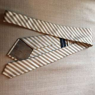 MASSIMO DUTTI BROWN STRIPES TIE