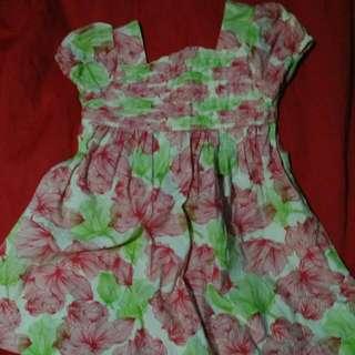 Preloved Dress For 6-12mons