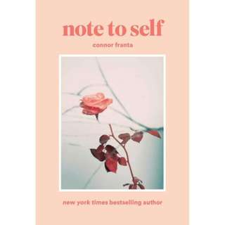 Note To Self By Connor Franta