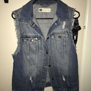 Glassons Denim Vest