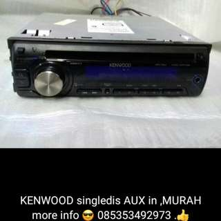 KENWOOD - KDC-146MP [ Singledis 95% Mulus ]