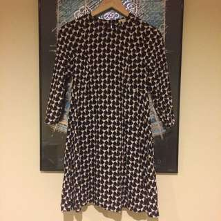 H&M Geometric Dress Size 6