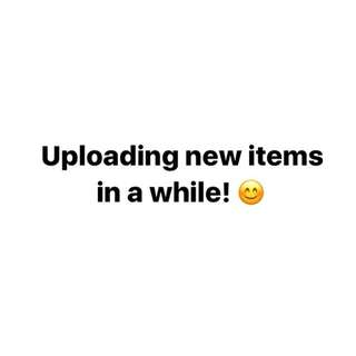 NEW ITEMS!!!! 😊