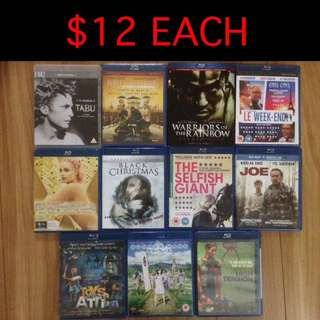 $12-$18 Blu-ray's - 46 Titles (4 of 6)