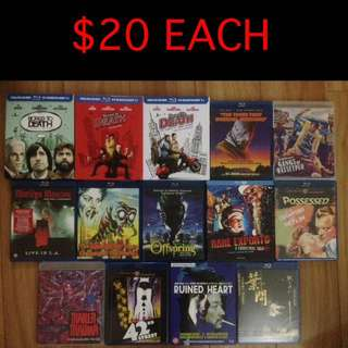 $20-$40 Blu-ray's - 28 Titles (5 of 6)