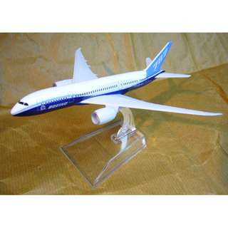 B787 Diecast Aircraft Model