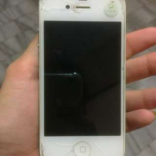iPhone 4s 8 GB White Ori