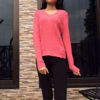 SWEATER KNIT pink