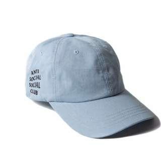Anti Social Social Club Paranoid Hoodie Kanye Sweatshirts Mens Womens Cap Hat Blue