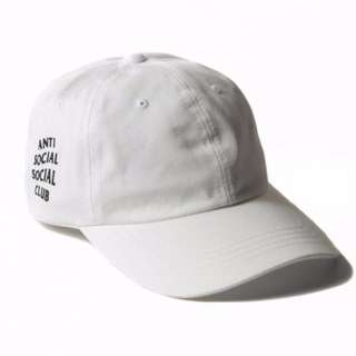 Anti Social Social Club Paranoid Hoodie Kanye Sweatshirts Mens Womens Cap Hat White