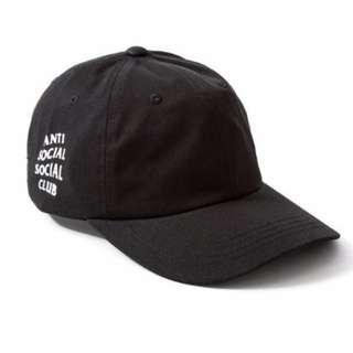 Anti Social Social Club Paranoid Hoodie Kanye Sweatshirts Mens Womens Cap Hat Black