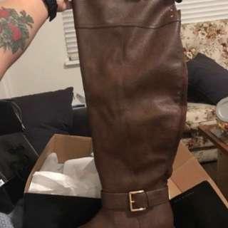 Torrid Flat Boots Size 9