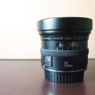 Canon Fisheye Lens EF 15mm f/2.8