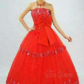 Ball Gown Red
