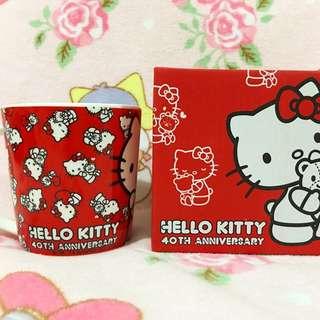 Sanrio Hello Kitty 40th Anniversary Baleno Ceramic Mug