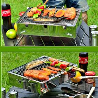 Portable Stainless Steel BBQ Grill Rack