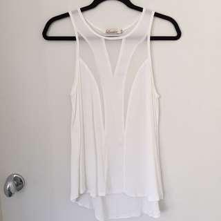 White Cami Top
