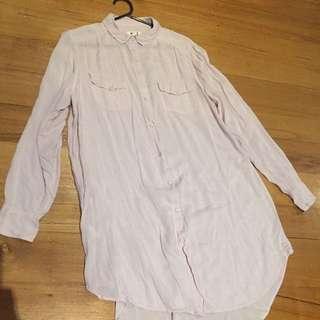 RE:DENIM Supersoft Long Shirt Dress