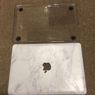 "Marble Case For MacBook Pro 13"" With CD rom"