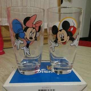 🚚 米奇米妮玻璃杯
