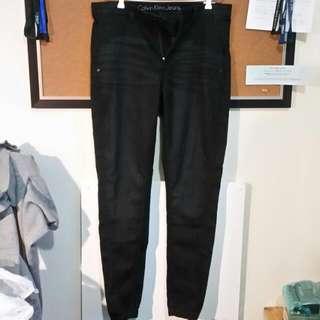 Calvin Klein Cuffed Denim Jeans
