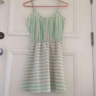 Penshope Light Green Dress