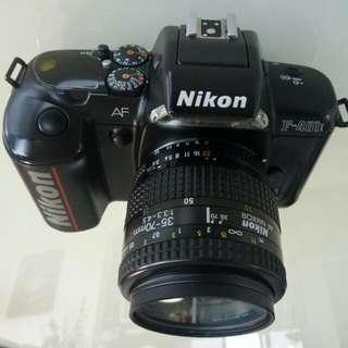 Nikon F-401 SLR Analog Camera