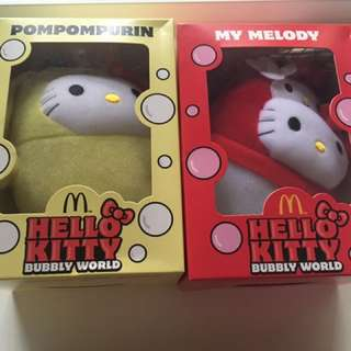hello kitty soft toys
