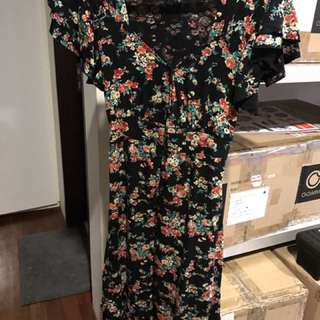 Floral Dress (stretchable)