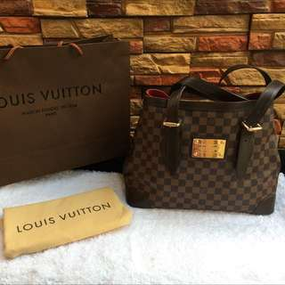 Louis Vuitton Damier Hampstead GM Authentic