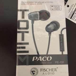 Fischer Audio Earpiece