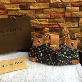 Louis Vuitton Ursula Multicolor Bag Authentic
