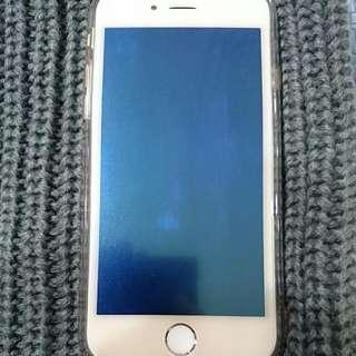 iPhone 6 128G (6s玫瑰金殼)