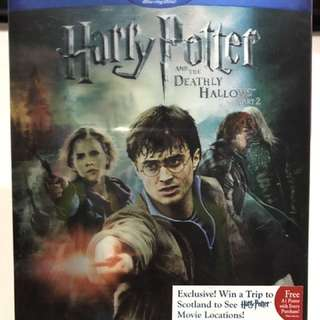 Harry Potter And The Deathly Hollows part 2 Bluray