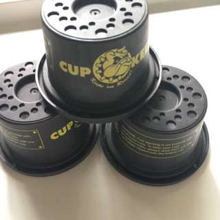 stacking cup keepers