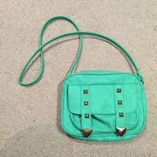 Blue / Turquoise Handbag Cross Body Bag