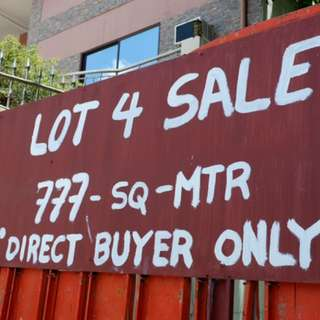 777 SQM Lot For Sale