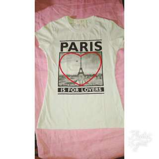 Paris Is For Lovers Tee