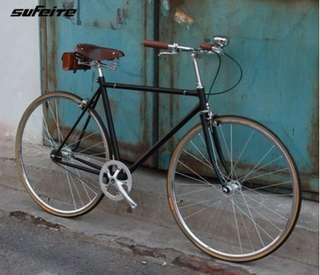 有現貨 法國復古自行車 死飛 英倫風格自行車 復古腳踏車 紳士車 淑女車 文青車 設計師
