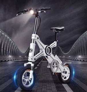 恩斯邁X3 可折疊電動自行車 鋰電池 電動滑板車 電動輔助自行車 電動助力自行車 電動車