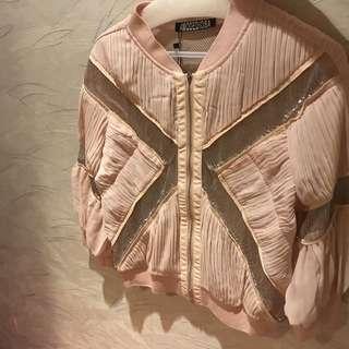 Chiffon Pink Sparkling ✨ Jacket