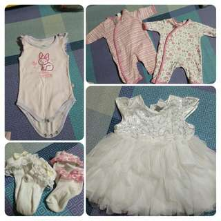 Take all Baby Girl Apparel