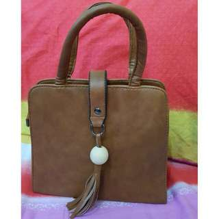 Korean Tassel Hand Bag w/ Sling