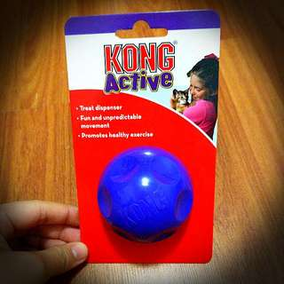 Kong Active Treat Dispenser For Cats And Kittens! Promotes Healthy Exercise And Play!