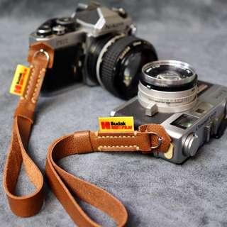 Camera Leather Wrist Strap
