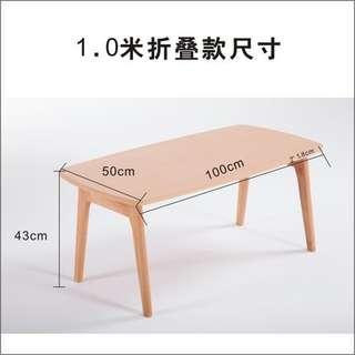 可折疊 和室桌 茶桌 茶几 餐桌 客廳桌 書桌 工業風loft 北歐鄉村風 歐式古典風 無印良品風 ikea風  日式